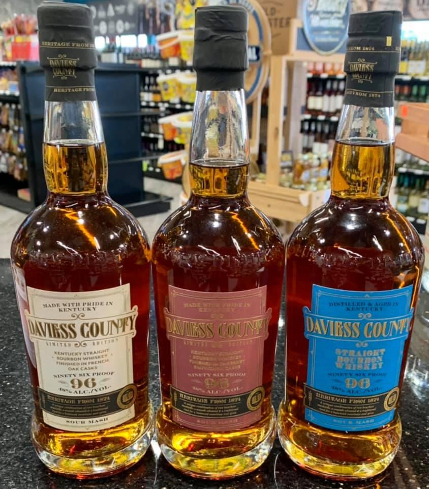 On the Rocks Premium Liquor and Wine Daviess County bourbon:whiskey